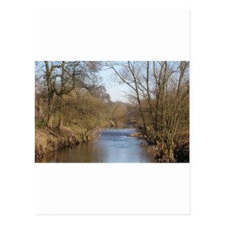 Río inglés tarjetas postales