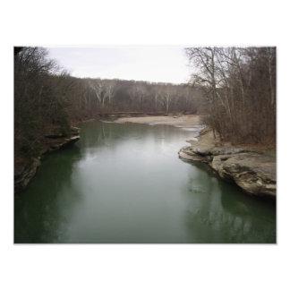 Río meridional de Indiana Impresiones Fotograficas