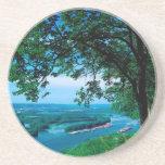 Río Mississippi Mcgregor Iowa Posavasos Manualidades