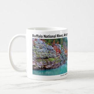 Río nacional II del búfalo - la caída colorea 2009 Taza