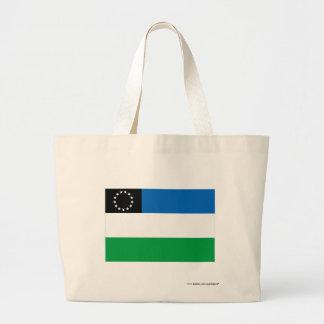 Río Negro flag Canvas Bag