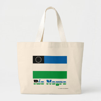 Río Negro flag with name Bags