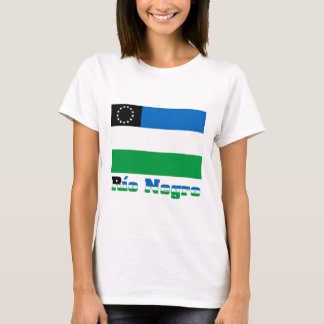 Río Negro flag with name T-Shirt