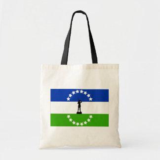Rio Negro No Oficial, Argentina flag Canvas Bag