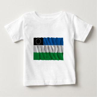 Río Negro waving flag Baby T-Shirt