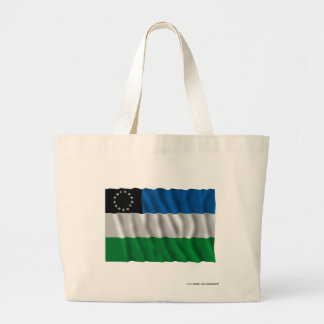 Río Negro waving flag Tote Bag