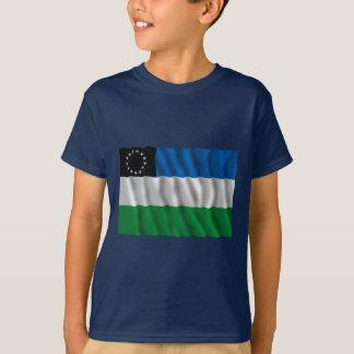 Río Negro waving flag T-Shirt