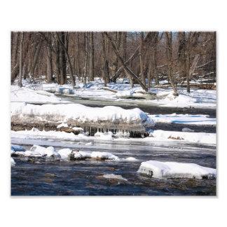 Río Nevado en Wisconsin Foto