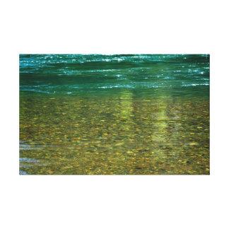 Río Oregon de McKenzie Lienzo Envuelto Para Galerías