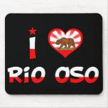 Río Oso, CA Alfombrilla De Ratones