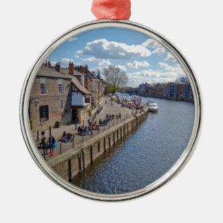 Río Ouse de reyes Staith York Ornamento De Navidad