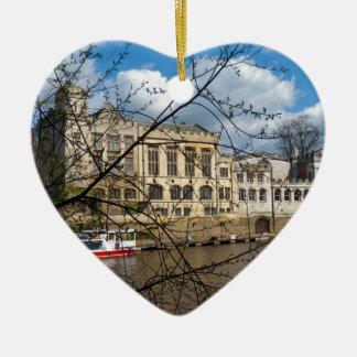 Río Ouse del consistorio de la ciudad de York Ornamentos Para Reyes Magos