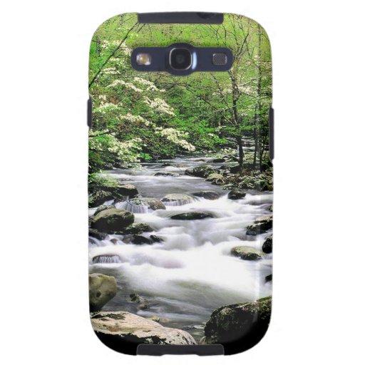 Río Prongdogwoods medio Tennesse ahumado Galaxy S3 Protector
