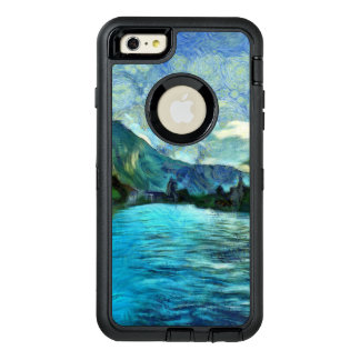 Río que corre a través de Interlaken Funda OtterBox Defender Para iPhone 6 Plus