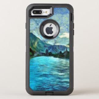Río que corre a través de Interlaken Funda OtterBox Defender Para iPhone 7 Plus