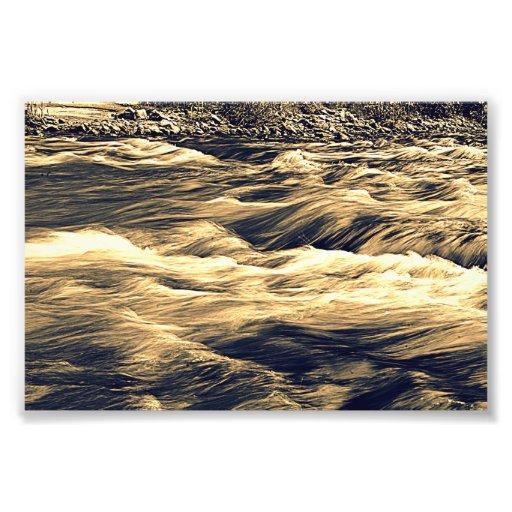 Río que fluye cojinete