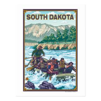 Río RaftingSouth Dakota Postales