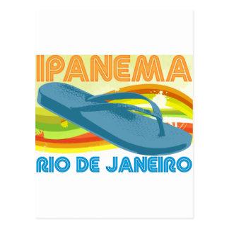 Río retra Ipanema Tarjetas Postales