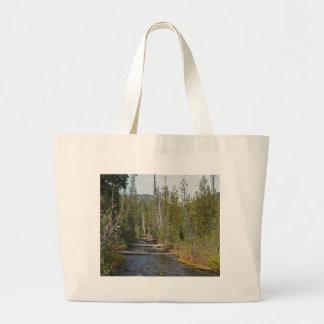 Río salvaje de Deschutes, Oregon Bolsa De Mano
