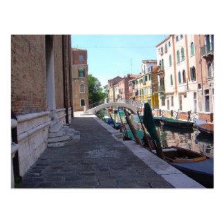 Rio San Guiseppe, Venice 3 Postcard