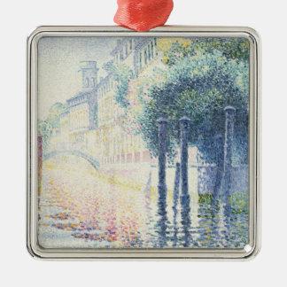 Rio San Trovaso, Venice, 1903-4 Metal Ornament