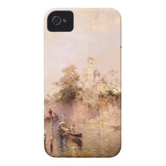 Rio Santa Barnaba, Venice by Franz Richard iPhone 4 Cover
