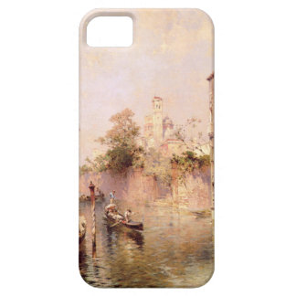 Rio Santa Barnaba, Venice by Franz Richard iPhone SE/5/5s Case