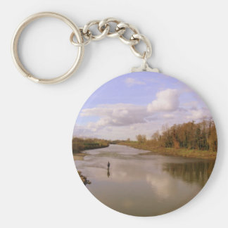 Río Shannon Llavero Redondo Tipo Pin
