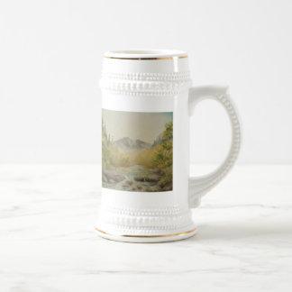 Río Stein de la montaña Jarra De Cerveza