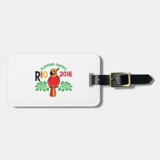 Rio Summer Games Travel Bag Tag