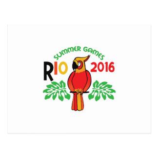 Rio Summer Games Postcard
