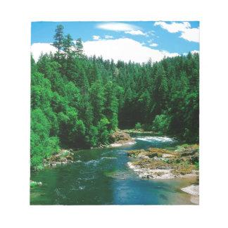 Río Umpqua el condado de Douglas Oregon Blocs