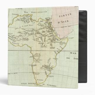 """Río y montañas de África Carpeta 1 1/2"""""""