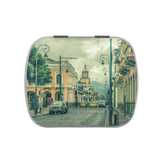 Riobamba Historic Center Urban Scene Jelly Belly Candy Tins