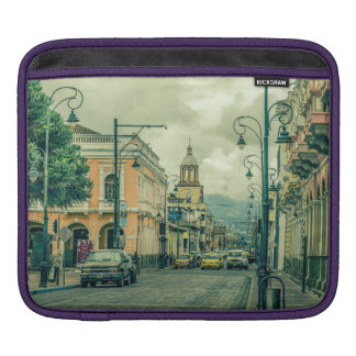 Riobamba Historic Center Urban Scene Sleeve For iPads