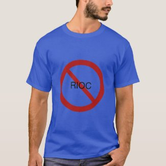 RIOC Must Go Blue T-Shirt
