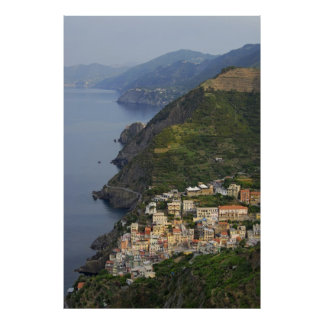 Riomaggiore and Cinque Terre, Italy Posters
