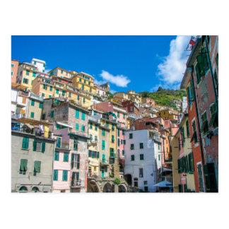 Riomaggiore, Cinque Terre, Italy - Postcard