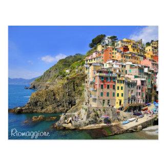 Riomaggiore, Cinqueterre Postcard