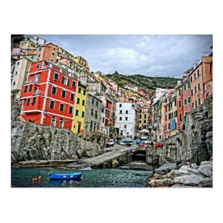 Riomaggiore, Italia - The Cinque Terre Postcard