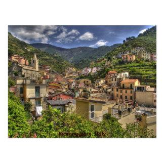 Riomaggiore. Italy Postcard
