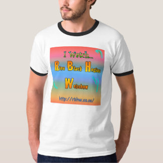 Rion Black Hogins Regular T-Shirt #1