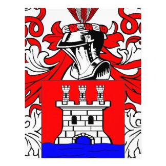 Rios Coat of Arms Letterhead Template