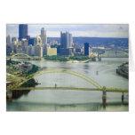 Ríos de Pittsburgh Pennsylvania Felicitación