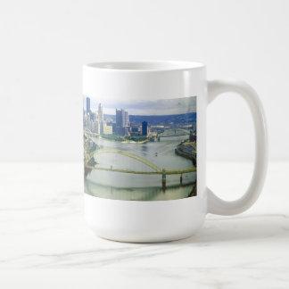 Ríos de Pittsburgh Pennsylvania Taza