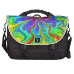 Ríos del arco iris bolsas para portatil