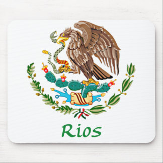 Rios Mexican National Seal Mouse Pad