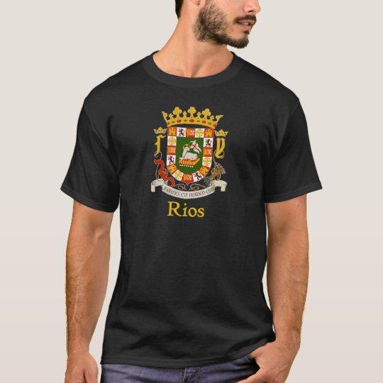 Rios Puerto Rico Shield T-Shirt