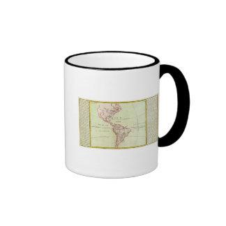 Ríos y montañas de las Américas Tazas De Café