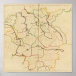 Ríos y valles de Alemania Impresiones